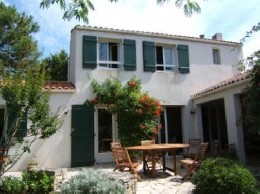 Haus in Les portes en ré für  8 •   mit Terrasse