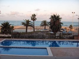 Flat in Peñiscola for   6 •   private parking