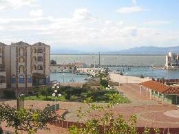 Barcares -    uitzicht op meer