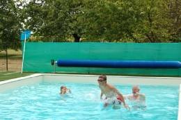 Gite in Bougneau für  6 •   mit Schwimmbad auf Komplex