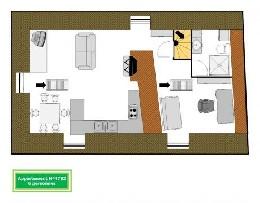 Appartement 6 personnes Saint Malo - location vacances  n°4782