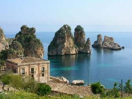 House Castellammare Del Golfo -scopello - 4 people - holiday home  #4976