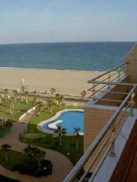 Almeria -    uitzicht op zee