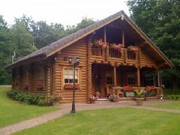 Chalet 7 personnes Hotton ( Biron) - location vacances  n°5730