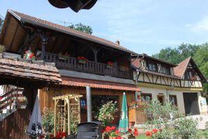 Maison alsacienne - Lieu calme dans le vignoble Vacances au calme