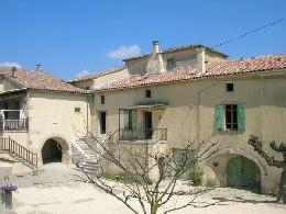 Gite à Saint sauveur de cruzières pour  8 •   avec piscine privée   n°6086