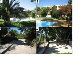 Flat in Sausset les pins for   6 •   private parking