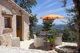 Gite 2 people Grasse - holiday home  #6480