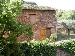 Gite à Roquebrun pour  4 •   animaux acceptés (chien, chat...)   n°6780