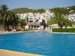 Chalet in Moraira for   6 •   with shared pool