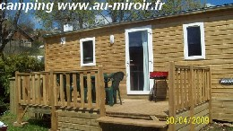 Mobile home in Métabief for   6 •   with terrace   #7665