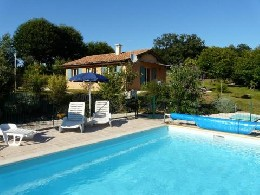in Belvès / doissat for   5 •   with shared pool   #7678