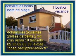 Donville Les Bains - 8 people - holiday home  #9207
