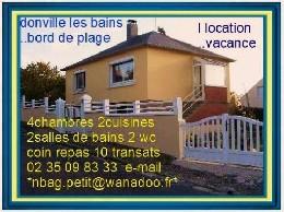 Donville Les Bains - 8 personnes - location vacances  n°9207