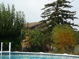 Gite in Vallon pont d'arc für  6 •   mit privat Schwimmbad  N°9598