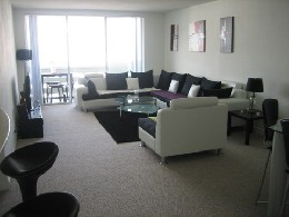 Bed and Breakfast in Miami beach for   2 •   view on sea