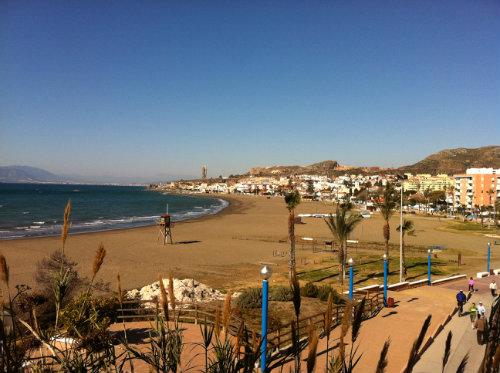 Malaga - la cala del moral -    acceso minusválidos