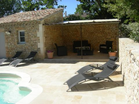 House in Gordes - Vacation, holiday rental ad # 22208 Picture #2