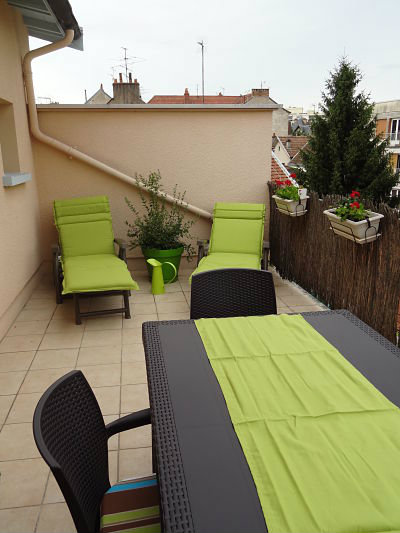 Flat Dijon - 4 people - holiday home  #22287