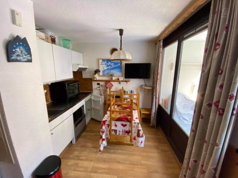 Studio in Les menuires - Vacation, holiday rental ad # 22302 Picture #1