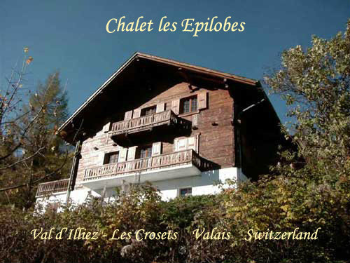 Val d\'illiez / les crosets -    4 bedrooms