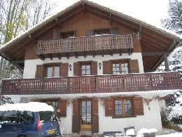 Chalet 8 personnes Carroz D'araches - location vacances  n°22085