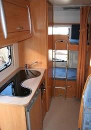 Caravane 6 personnes Moustoir Ac - location vacances  n°22211