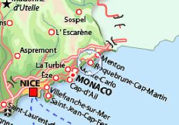 Appartement 5 personnes Roquebrune-cap-martin - location vacances  n°22220
