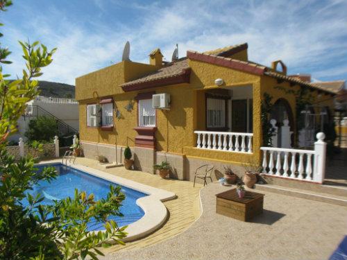 Casa Mazarrón-murcia - 4 personas - alquiler n°23194