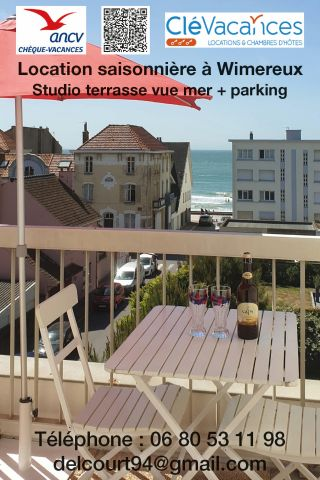 Studio in Wimereux - Vacation, holiday rental ad # 23202 Picture #0