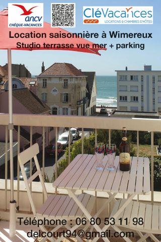 Studio Wimereux - 3 personnes - location vacances  n�23202