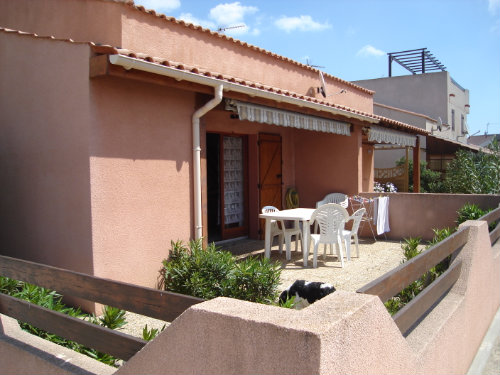 Maison 6 personnes Gruissan - location vacances  n°23255