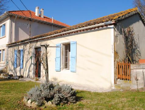 Gite in La romieu für  6 •   Garten