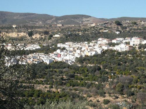 Maison en Andalousie - Dans village blanc  à albunuelas