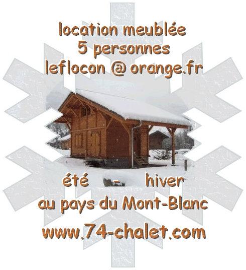 Chalet 5 personnes Les Contamines-montjoie - location vacances  n°23722