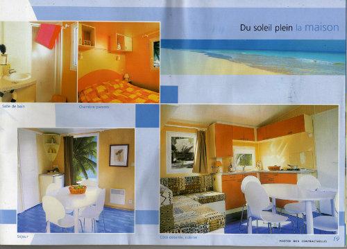 Mobil-home Valras-plage - 6 personnes - location vacances  n°23947