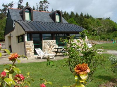 Gite Rosnoen - 4 personnes - location vacances  n°24171
