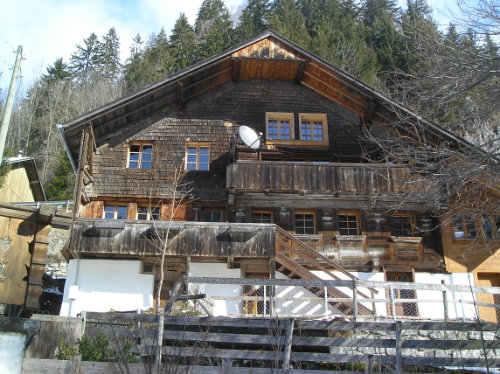 Chalet in Jaun - Vacation, holiday rental ad # 24193 Picture #0