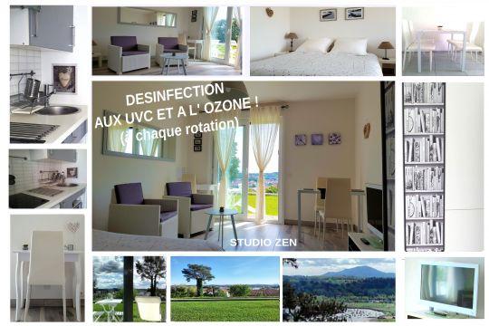 Studio 3 personnes Ciboure-saint Jean De Luz - location vacances  n°24419