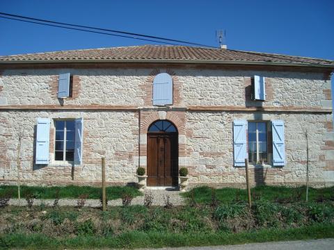 Gite in Saint nicolas de la grave für  3 •   1 Schlafzimmer