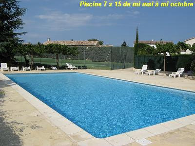 Flat in Uzès - Vacation, holiday rental ad # 24525 Picture #4