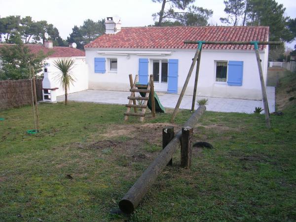 Maison La Faute Sur Mer  - location vacances  n°24594
