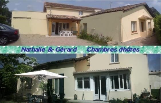 Bed and Breakfast 6 personen Bergerac - Vakantiewoning  no 24640