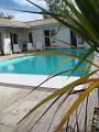 Maison à Sanguinet pour  12 •   avec piscine privée