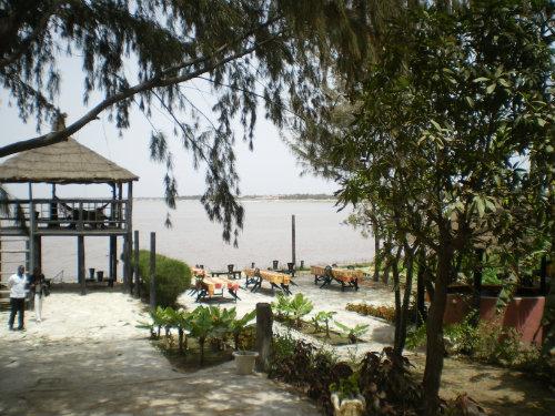 Dakar -    vue sur lac