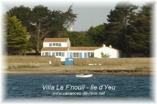 House in L'ile-d'yeu for   12 •   private parking   #25008