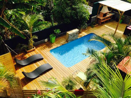 Chalet à Saint pierre pour  6 •   avec piscine privée