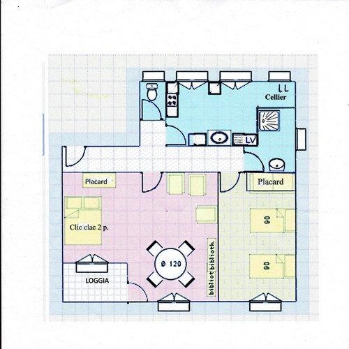 Appartement Six Fours Les Plages - 4 personnes - location vacances  n�25142