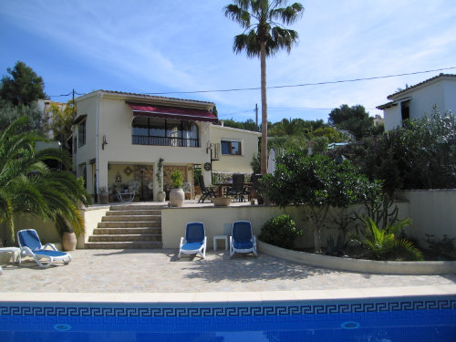 House in Moraira - Vacation, holiday rental ad # 25380 Picture #0