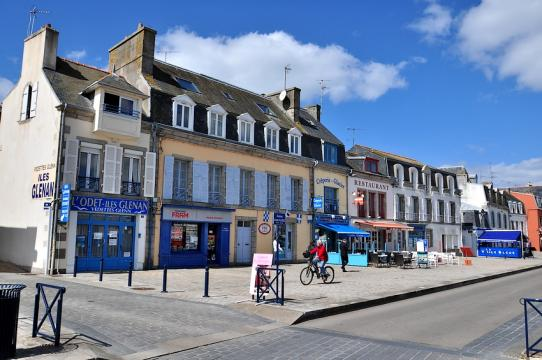 Concarneau -    view on sea
